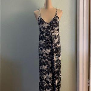 Zara Tie Dye Cami Maxi Dress